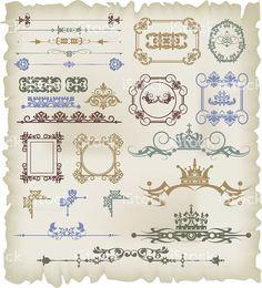 Vector illustration frames and banners for design https://creativemarket.com/kio https://ru.fotolia.com/p/201081749 http://ru.depositphotos.com/portfolio-1265408.html