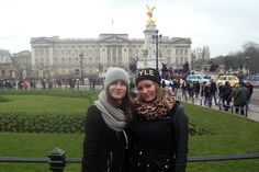 With Werka in front of Buckingham Palace. London 2015