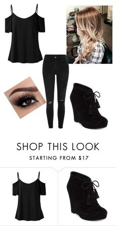 """""""Untitled #55"""" by redhead303 ❤ liked on Polyvore featuring Jessica Simpson and River Island"""
