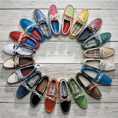 boat shoe of a different color