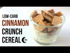 Keto Cinnamon Crunch Cereal | Low-Carb Cinnamon Toast Crunch Recipe | Sugar-Free Breakfast Cereal - http://www.bestrecipetube.com/keto-cinnamon-crunch-cereal-low-carb-cinnamon-toast-crunch-recipe-sugar-free-breakfast-cereal/