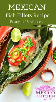 Looking for a simple, healthy and quick fish dinner? Try this easy recipe for baked in banana leaves, fresh fish fillets. With little prep involved, this is a great last-minute, easy dinner for the family, full of flavor. #mexicanfood #mexicanseafood #fishfilletdinner Tilapia Fillet Recipe, Baked Tilapia Fillets, Healthy Mexican Recipes, Easy Recipes, Seafood Recipes, Chicken Recipes, Quick Fish, Banana Leaves, Fish Dinner