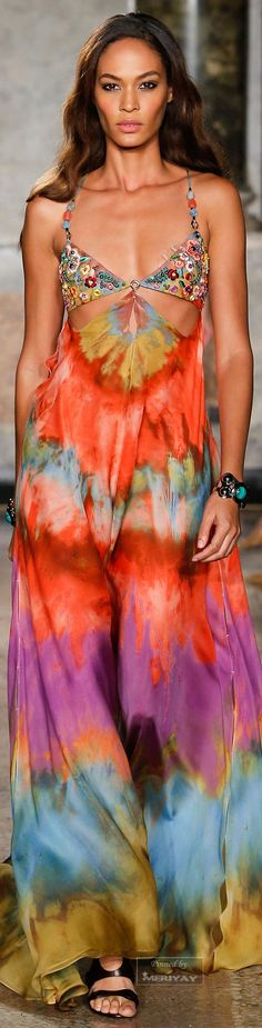 Emilio Pucci.Spring 2015. #HauteCouture Such a cool concept and very summery!! Would need a little more coverage for bigger breast sizes though