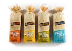 cool bread packaging done by Claudia Button