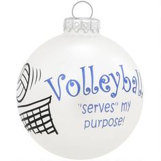 Apparently volleyball players don't make wreaths - we settled for this...