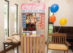 A sari-sari booth would be great to get prizes from playing the games!