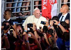 Con memoria y coraje, ustedes son la esperanza del futuro, dijo el Papa a los voluntarios de la JMJ - Radio Vaticano