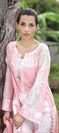 92697 Pink and Majenta color family Salwar Kameez in Cotton fabric with Resham, Lace work. Cotton Salwar Kameez, Pakistani Salwar Kameez, Salwar Dress, Shalwar Kameez, Churidar, Salwar Suits, Anarkali, Kurti Patterns, Dress Patterns