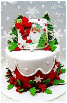 ..beautiful cake - maybe with a different top?