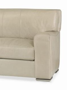 Leatherstone Apt Couch - 3 seat, 3 back sofa.  L2 Leather in Vista Stone