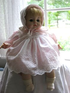 Madame Alexander Baby I have this doll got her for Christmas when I was around 15.