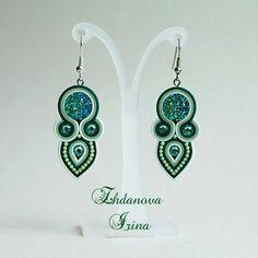 МАСТЕРСКАЯ Ждановой Ирины Shibori, Soutache Earrings, Drop Earrings, Selling Jewelry, Earring Set, Tatting, Jewerly, Handmade Jewelry, Fashion Jewelry