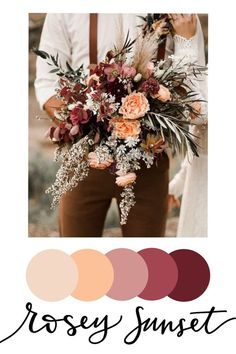 Floral inspired wedding color palettes — Tyler Made Lettering February Wedding Colors, Winter Wedding Colors, Neutral Wedding Colors, Wedding Color Pallet, Wedding Color Schemes, Color Palette For Wedding, Color Themes For Wedding, Fall Color Schemes, Wedding Color Combinations