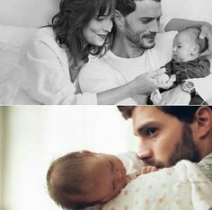 OMG!!! Adorable FIfty shades freed-Anastasia&christian new proud and very loving parents
