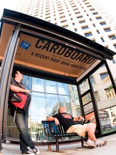 A great way to gain exposure for your product or service is to advertise at bus stops. People have to wait until the bus arrives and do not have too much to do besides waiting. Bus Stop Advertising, Guerrilla Advertising, Clever Advertising, Advertising Campaign, Marketing And Advertising, Advertisement Examples, Advertising Design, Guerilla Marketing, Street Marketing
