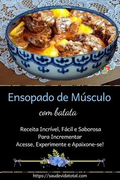 Chili, Soup, Beef, Incredible Recipes, Meat Recipes, Bon Appetit, Potato, Gastronomia, Dining
