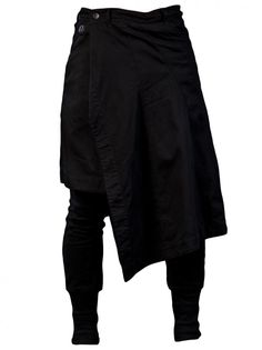 JULIUS - Skirted Slim Pant