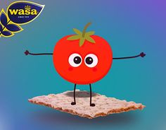 """Check out new work on my @Behance portfolio: """"WASA Plates Yapan Domates"""" http://on.be.net/1X8QTtw"""