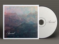Ascend EP by Electrik Company (via Creattica) Cd Cover, Album Covers, Album Cover Design, Jazz, Grafik Design, Vinyl Designs, Love And Light, Graphic Design Inspiration, Artsy