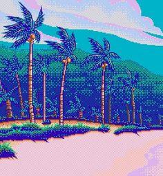 *⋆wιтн yoυr love noвody can drag мe down⋆* Illustrations, Illustration Art, 8 Bit Art, New Retro Wave, Vaporwave Art, Indie Pop, Pixel Art, Pop Art, Pin Up