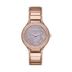 MICHAEL KORS KERRY ROSE GOLD STAINLESS STEEL MK3482