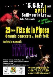 Fête de la Piposa, Sailly-sur-la-Lys, Nord-Pas-de-Calais