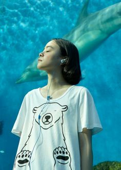 FRAPBOIS ZOO×横浜八景島シーパラダイス|ユキヒメチャンT|¥5,250