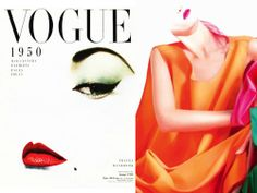 INTO THE FASHION: INSPIRATION Erwin Blumenfeld for Vogue 1950... Jil Sander AD SS||2011