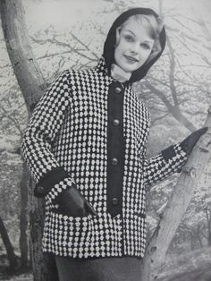 1960'sVintage Knitting PDF Pattern Women's by vintageknitcrochet