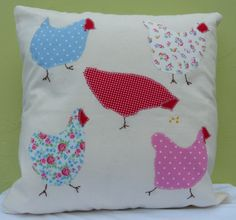 Hen cushion cover (C005)