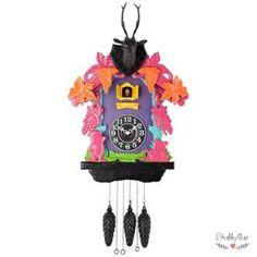 Farbenfrohe Kuckucksuhr COOKOO von Gift Company, erhältlich bei Shabbyflair