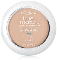 L& Paris True Match Super-Blendable Powder, Natural Beige, oz. -- Check this awesome product by going to the link at the image. Loreal True Match, Concealer, Bronzer, Color Plus, Oil Free Makeup, Classic Tan, No Foundation Makeup, L'oréal Paris, Setting Spray