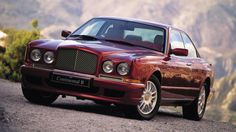 The Bentley Continental R, 1990's.
