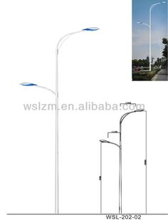 Postes de Iluminação de Rua da estrada