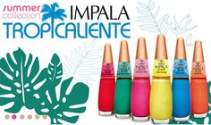 BeautyTidbits - Impala Nail Polishes Swatches and Review