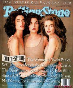 Ladies of Twin Peaks Lara Flynn Boyle ✾ Sherilyn Fenn ✾ and Mädchen Amick ✾
