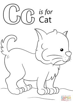 R For Rabbit Free Alphabet Coloring Pages