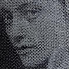 Simon Elementi per una teoria della jeune-fille:Giorgio Tentolini 2017cm 80x80, mixed media#ckcontemporary #art #painting #cityscape #contemporaryart
