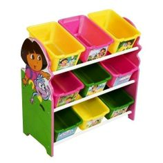 Dora The Explorer Toy Organizer