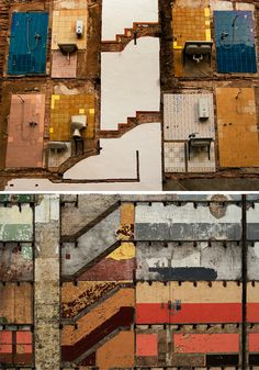 from 'Ghost Architecture: Unconscious Art of Building Demolition' article :)