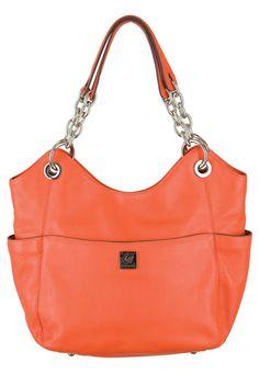 Grace Adele Carly Leather Orange