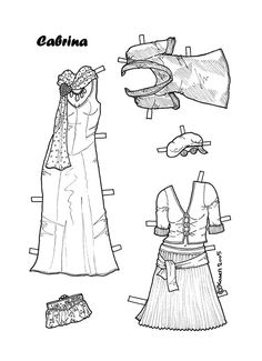 Karen`s Paper Dolls: Cabrina                                                                                                                                                                                 More