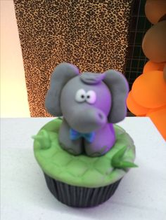Cupcake Safari elefante