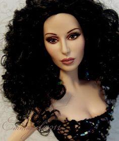 repainted Cher by Gloria and Christine Koja of Emmajude Designers.