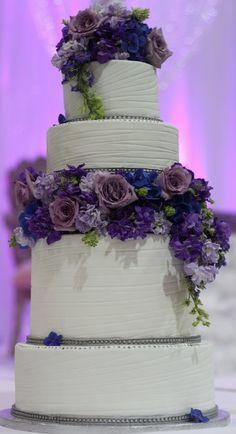 Pretty in Purple - by sugarspicecouture @ CakesDecor.com - cake decorating website