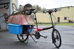 大量の荷物や複数名の子どもを運べる自転車「Haul-a-Day」 - えん乗り
