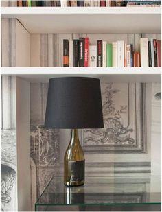 DIY bottle lamps