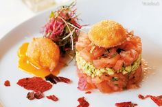 Paradajkovo-avokádový ,,tatarák,, Shrimp, Food And Drink, Meat