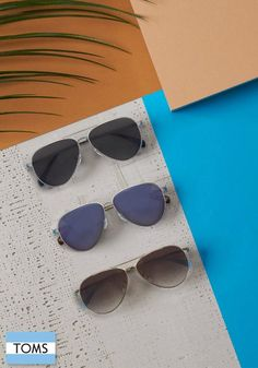 Style meets comfort with TOMS sunglasses for men.