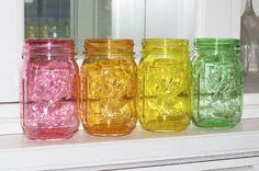 Coisas legais para se fazer com potes de vidro usados